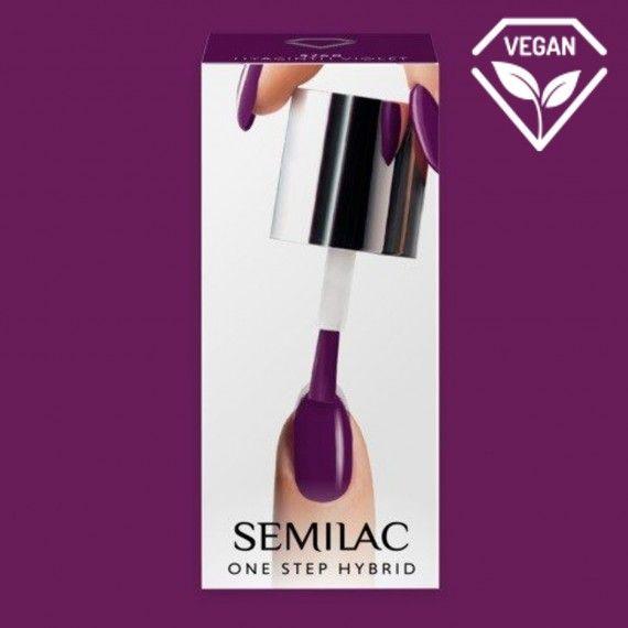 S760 Gel Polish All in One · Hyacinth Violet 5ml · Semilac Ireland