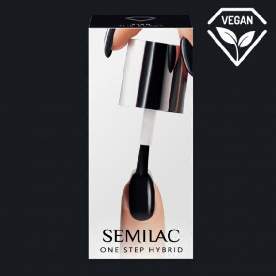 S190 SEMILAC ONE STEP HYBRID - BLACK 5ML
