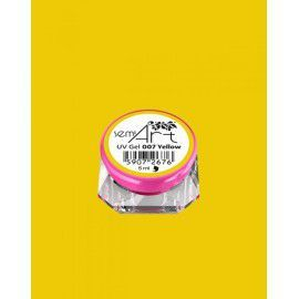 Semi Art UV Gel 007 Yellow