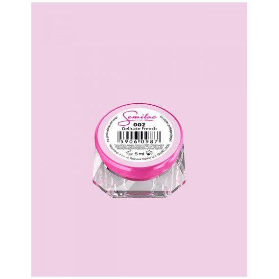 002 UV Gel Color Semilac Delicate French 5ml