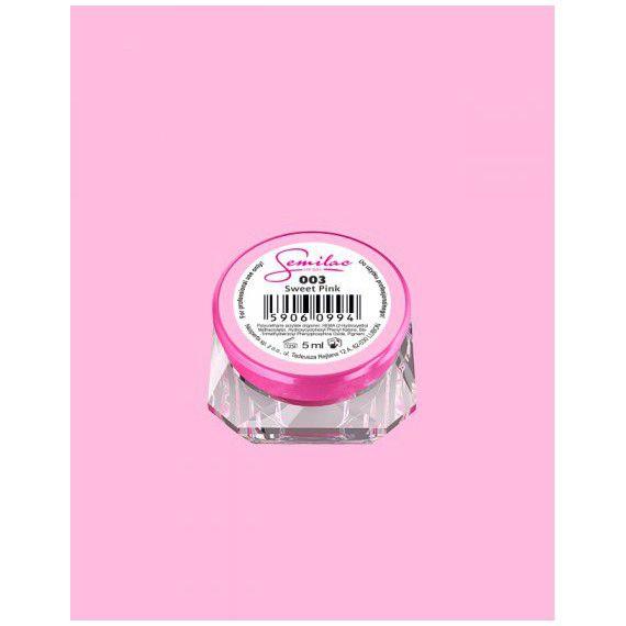 003 UV Gel Color Semilac Sweet Pink 5ml