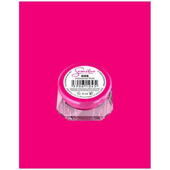 008 UV Gel Color Semilac Intensive Pink 5ml