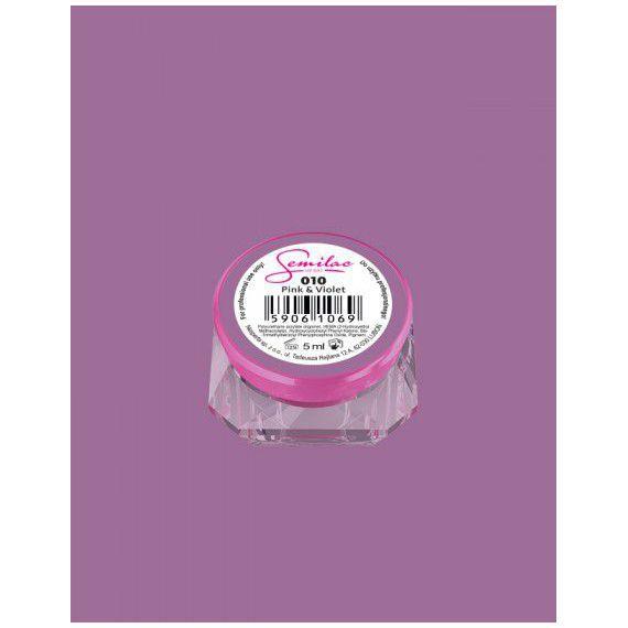 010 UV Gel Color Semilac Pink & Violet 5ml