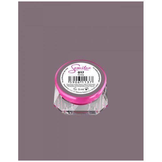 017 UV Gel Color Semilac Grey 5ml