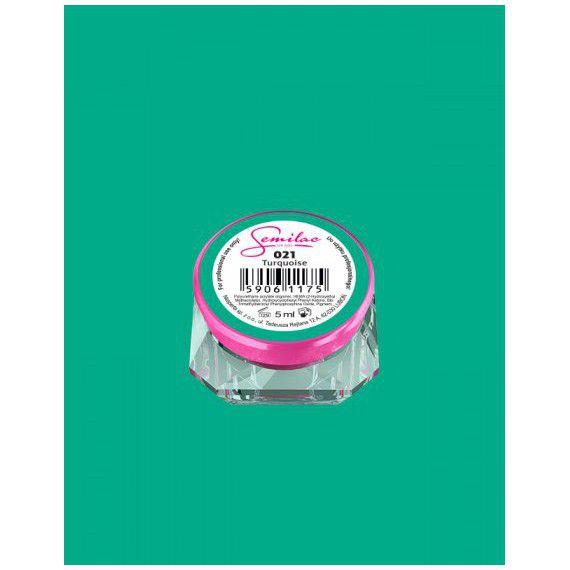 021 UV Gel Color Semilac Turquoise 5ml