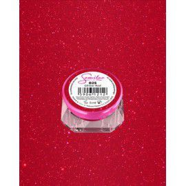 025 UV Gel Color Semilac Glitter Red 5ml