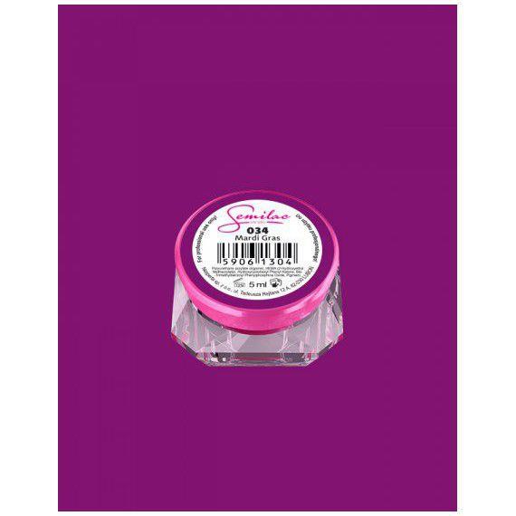 034 UV Gel Color Semilac Mardi Gras 5ml