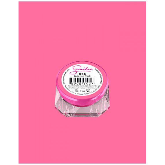 046 UV Gel Color Semilac Intense Pink 5ml