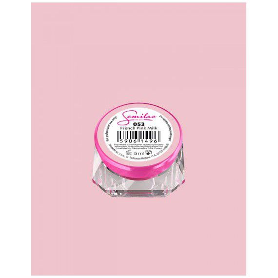 053 UV Gel Color Semilac French Pink Milk 5ml
