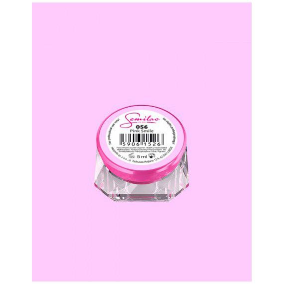 056 UV Gel Color Semilac Pink Smile 5ml