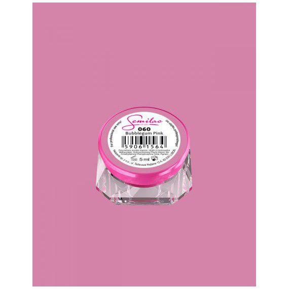060 UV Gel Color Semilac Bubblegum Pink 5ml
