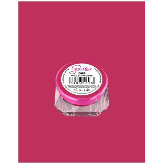 065 UV Gel Color Semilac Wild Strawberry 5ml