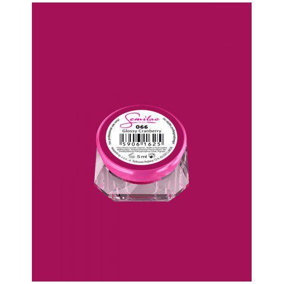 066 UV Gel Color Semilac Glossy Cranberry 5ml