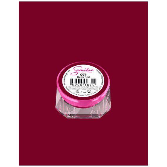 071 UV Gel Color Semilac Deep Red 5ml