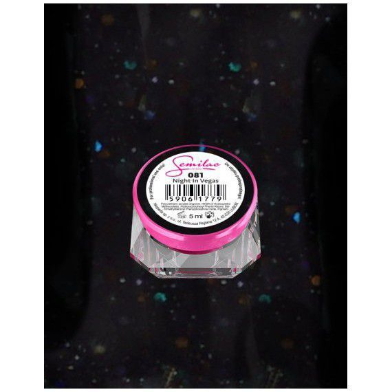 081 UV Gel Color Semilac Night In Vegas 5ml