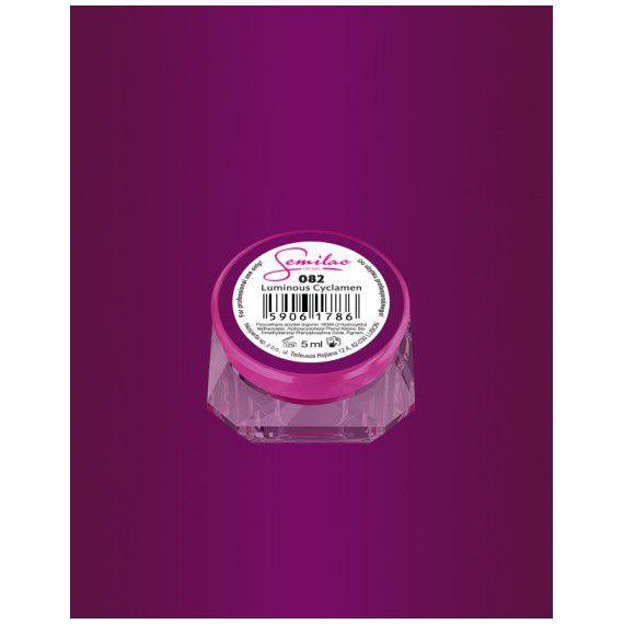 082 UV Gel Color Semilac Luminous Cyclamen 5ml