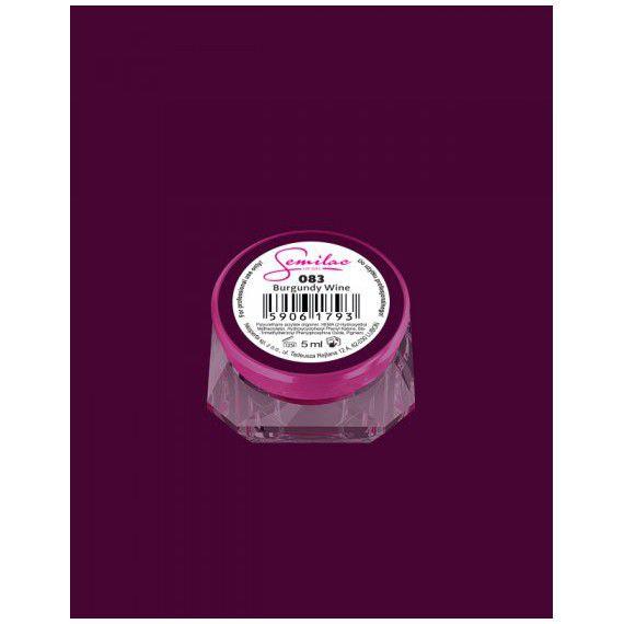 083 UV Gel Color Semilac Burgundy Wine 5ml