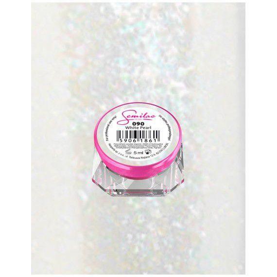 092 UV Gel Color Semilac Shimmering White 5ml