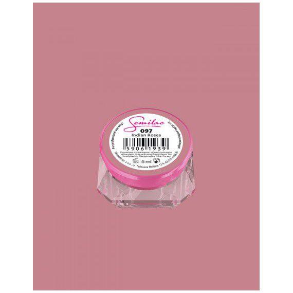 097 UV Gel Color Semilac Indian Roses 5ml