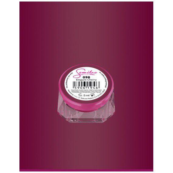 098 UV Gel Color Semilac Elegant Cherry 5ml