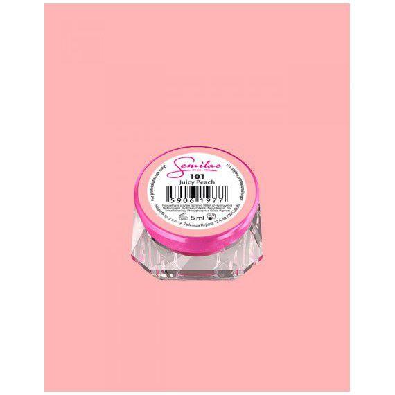 101 UV Gel Color Semilac Juicy Peach 5ml