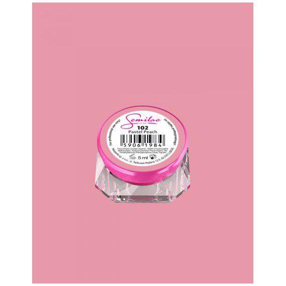 102 UV Gel Color Semilac Pastel Peach 5ml