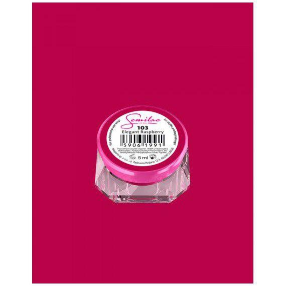 103 UV Gel Color Semilac Elegant Raspberry 5ml