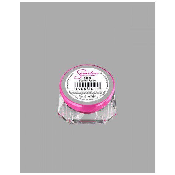 105 UV Gel Color Semilac Stylish Gray 5ml
