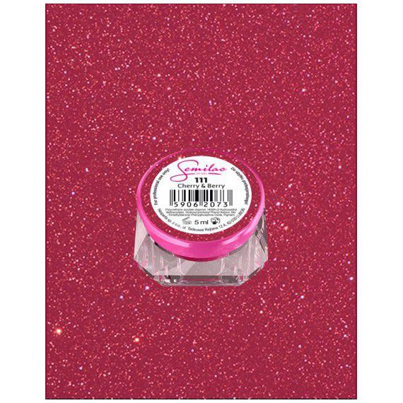 111 UV Gel Color Semilac Cherry & Berry 5ml