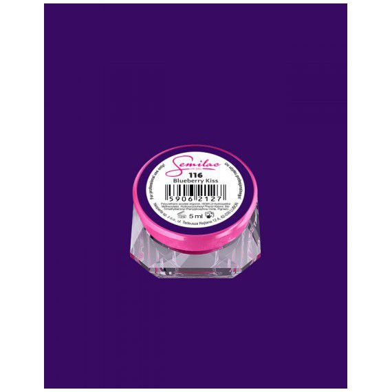 116 UV Gel Color Semilac Blueberry Kiss 5ml