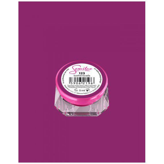 123 UV Gel Color Semilac Szeherezada 5ml