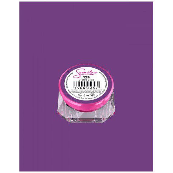 129 UV Gel Color Semilac Violet Bliss 5ml