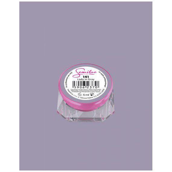 141 UV Gel Color Semilac Lady in Gray 5 ml