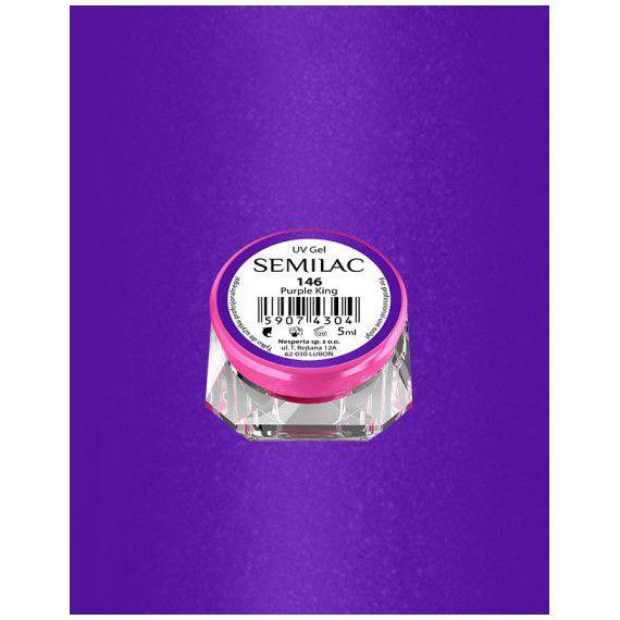 146 UV Gel Color Semilac Purple King 5ml