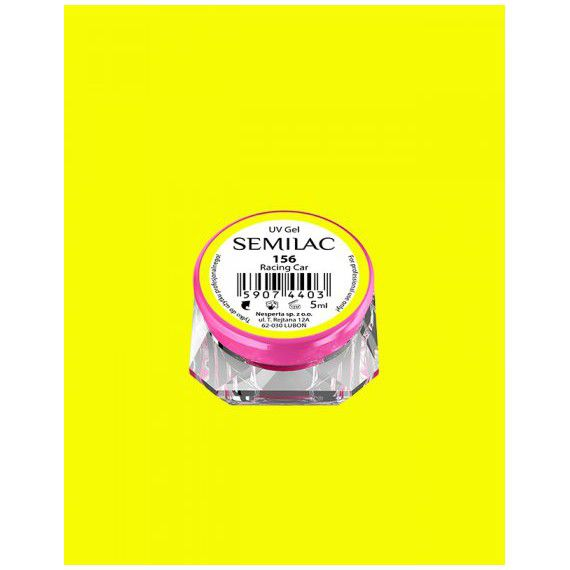 156 UV Gel Color Semilac Racing Car 5ml