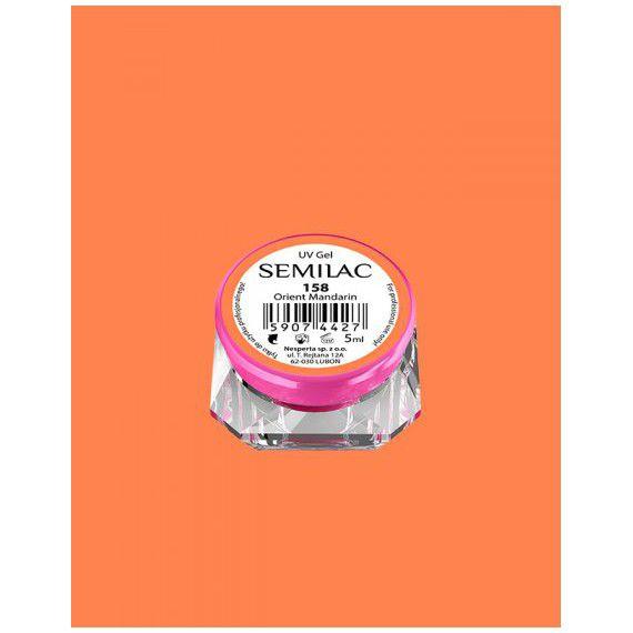 158 UV Gel Color Semilac Orient Mandarin 5ml
