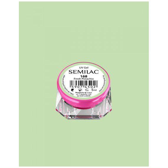168 UV Gel Color Semilac Fresh Pistachio 5ml