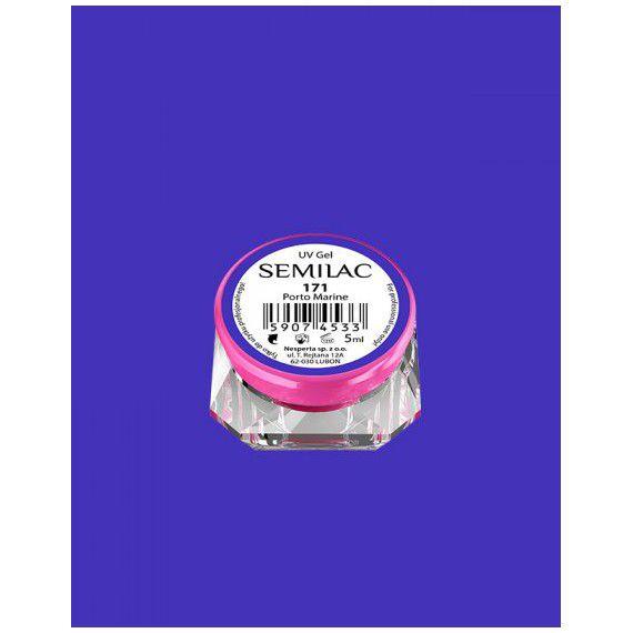 171 UV Gel Color Semilac Porto Marine 5ml