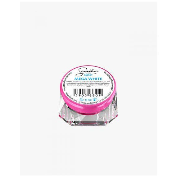 Semilac UV Gel Smart Mega White 5ml