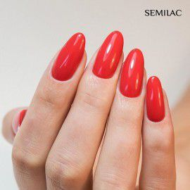 024 Semilac Gel Polish - Vibrating Tomato 7ml