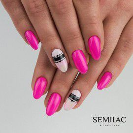 008 Semilac Gel Polish - Intensive Pink 7ml
