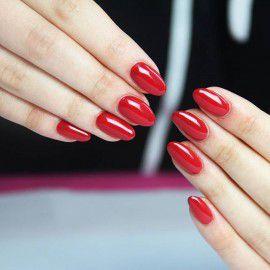 027 Semilac Gel Polish - Intense Red 7ml