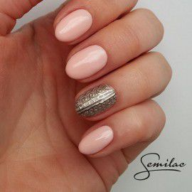 054 Semilac Gel Polish - Pale Peach Glow 7ml