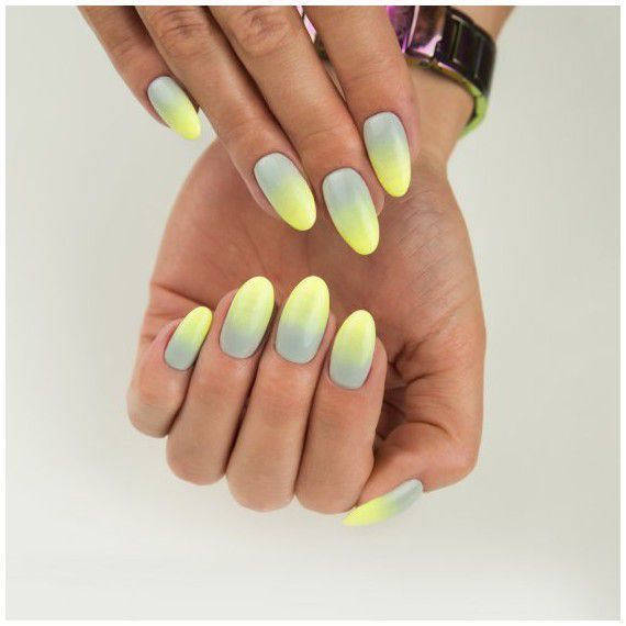 Contrasting ombre