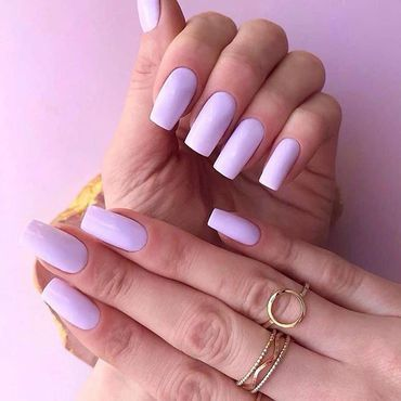 The playful #semilac 145 Lila Story - strongly bleached heather 💜 #semilacnails by @silvia_nails_ . www.semilac.ie . #violetnails #nailsonfleek #gelpolish #longnails #instanails #semilacireland #beautifulnails #nailtech #tuesdayinspiration #perfectnails