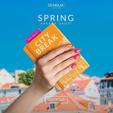 City break! New #semilac collection Swipe to see all colours 🔥 Which one is your favorite? shop all at www.semilac.ie Done by @thelittlethingsbyania ✈Bon Voyage 543 🛫Time to Fly 545 🧘‍♀Just Chillin 544 🛵Kiss & Ride 542 ⛵Ahoy There 546 🚖Another Way 547 . #semilaccitybreak #premiere #colours #collection #springnails#manicure #hybrydy #semigirls #new #semilacirelan #irishnailtech #iriishnails #irishbeauty