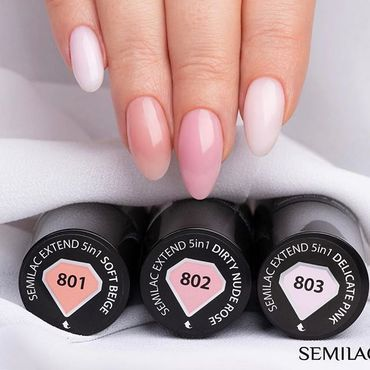 Gel Polish collection that save your time! Semilac 5in1 - Base, Colour , Top - all in one. Just two layers and your nails are done for up to 21 days! 👌 💅🏻 see more at www.semilac.ie#quicknails #nials #nailsonfleek #semilacgirls #pinknails #beigenails #semilac5in1 #irishbeauty #semilac #irishblogger #gelpolish #gelnails #hybrydy #manicure #paznokcie