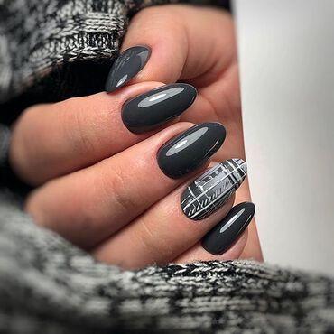 This is sensational deep shade of dark #gray ! How do you like it? #semilacnails done by @savchenkosemilac . #semilacireland #semilac #nailsdone #nailstagram #graynails #autumnnails #fallnails #instanails #nailsireland #irishnailtech #dublinnails #corknails #nailsgalway #nailslimerick #irishnailsalon #darknails