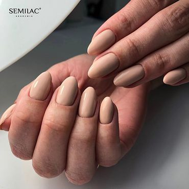 Unbeatable nude - #semilac 135 Frappe u can gat at Semilac.ie#nudenails #semilacireland #semilacgirls #ilovesemilac #semilacnails #nailsinspiration #classicnails #nails