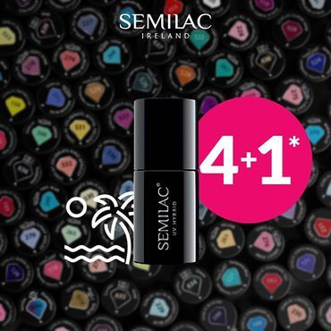 📣 FINAL REMINDER Promo 4+1 ends today! Buy any 5 Colours/ Base / Top / 5in1 / Building gel polish (you can mix them) and you will get 5th cheapest bottle for FREE! www.semilac.ie#semilacnails #semilacireland #semilac #hybrydy #nails #manicure #shop #irishnailtech #beautysalon #deal #promo #nailbar